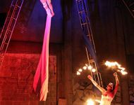 Aerial Duet & Fire Dancer