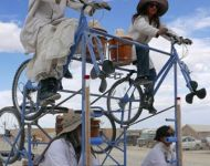 Churnatron 1400 goes to Burning Man